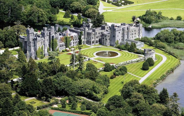 Ashford Castle, in County Mayo.