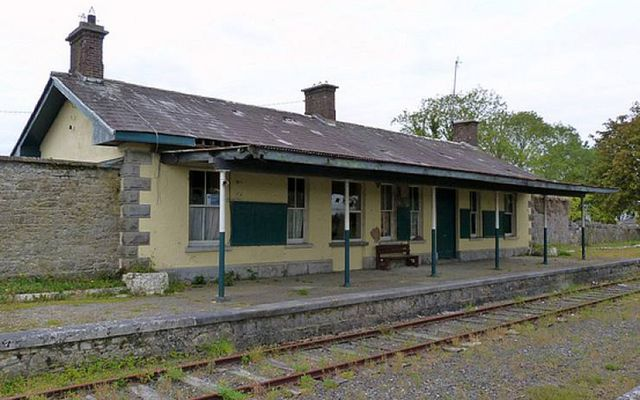 Ballyglunin Train Station in County Galway.