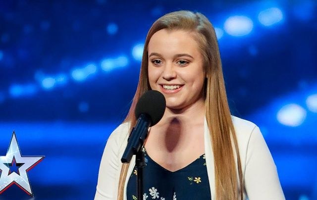 14-year-old Leah Barniville, from County Meath.
