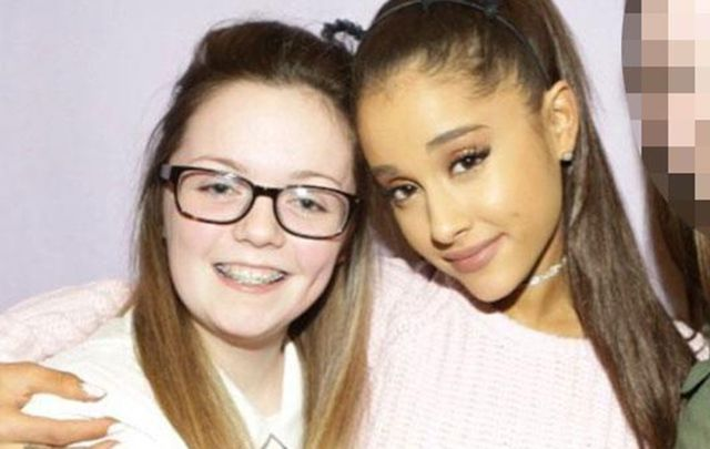 The first victim of Manchester bombing named as Georgina Callander, 18 - pictured here with her idol Ariana Grande in 2015.
