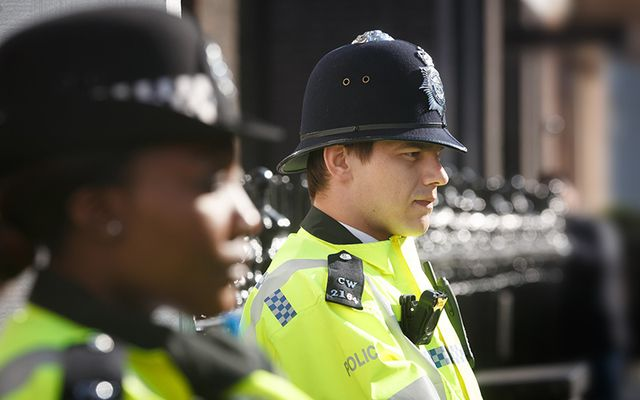 English police force.
