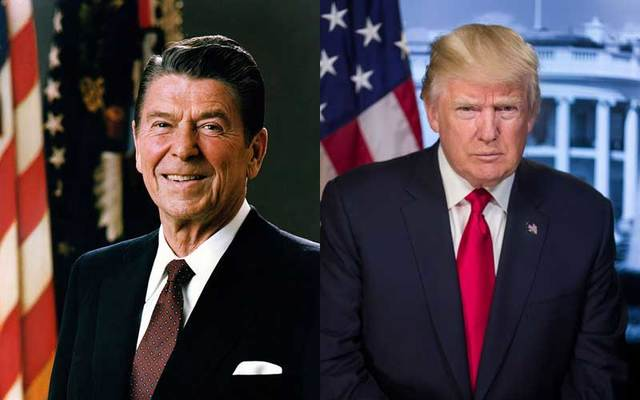 Ronald Reagan, Donald Trump.