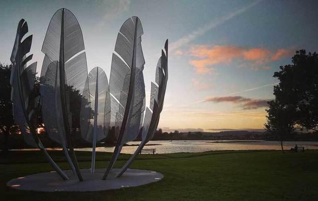 \'Kindred Spirits\' sculpture in Midleton, Co Cork.