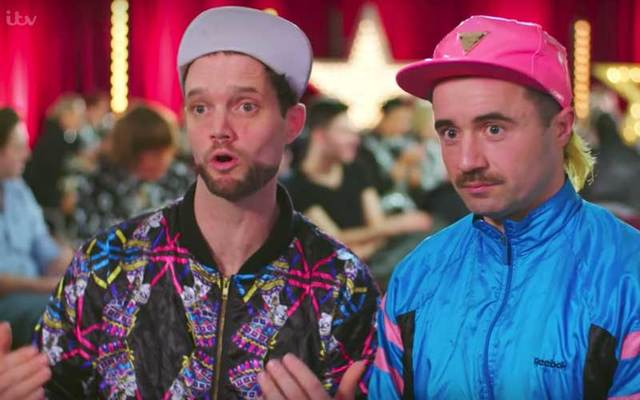 Sean and Seamus on Britain's Got Talent,