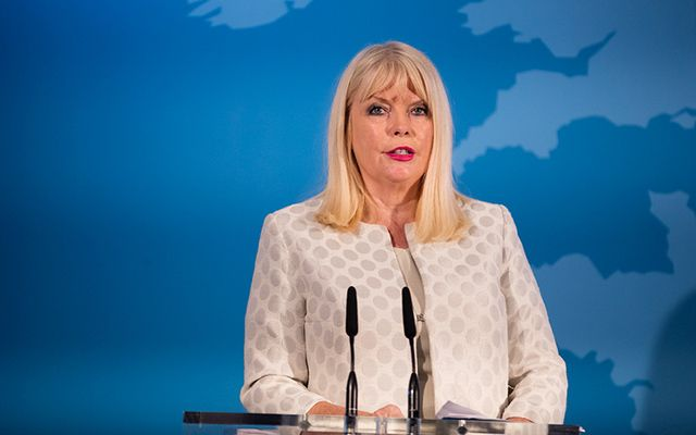 Irish Jobs Minister Mary Mitchell O\'Connor.