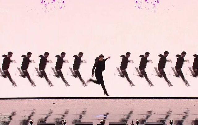 David Geaney on Britain's Got Talent