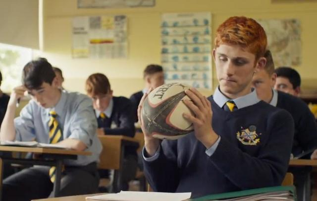 Fionn O'Shea in a scene from Handsome Devil.