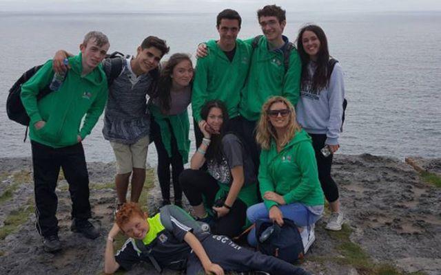 A group enjoying the Celtic Irish American Academy