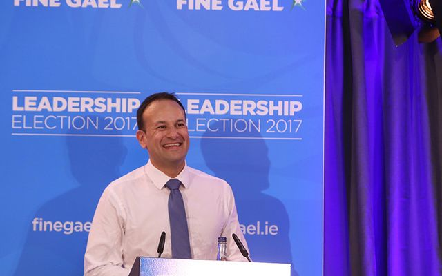 New Irish Taoiseach Leo Varadkar.