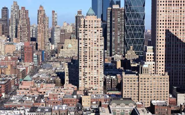 West Midtown Manhattan from Hell's Kitchen.