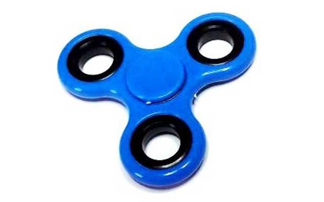 A fidget spinner.