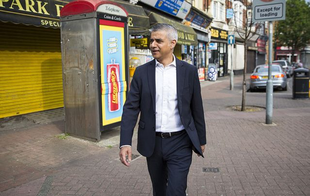 London Mayor Sadiq Khan.