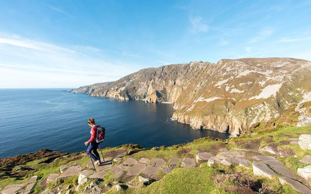 Donegal\'s Sliabh League along the northern stretch of the Wild Atlantic Way.