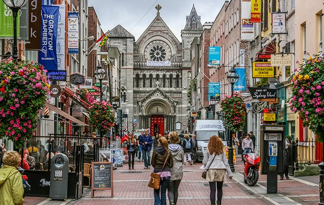 South Anne Street, Dublin: Reasons to live and work in Ireland?