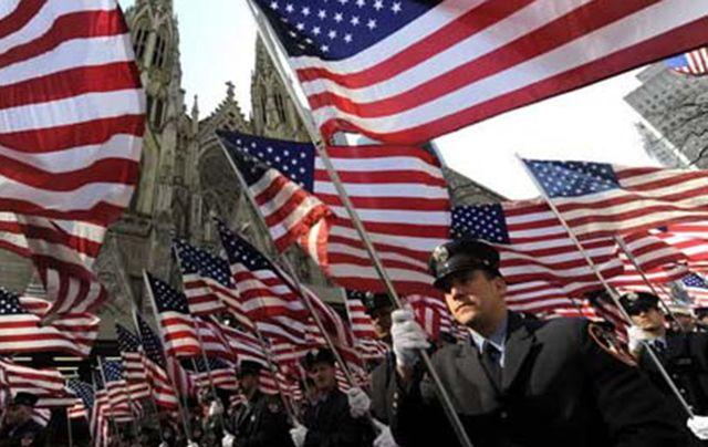 The New York City St. Patrick\'s Day Parade.