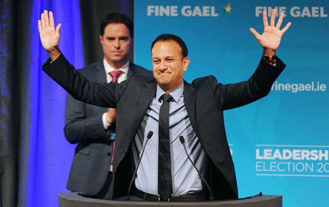 Leo Varadkar after winning the Fine Gael election last week.