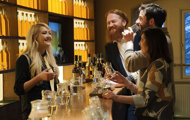 Learn about uisce beatha at the Irish Whiskey Museum.