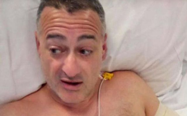 Roy Larner took on three of the London Bridge attackers and was stabbed eight times.