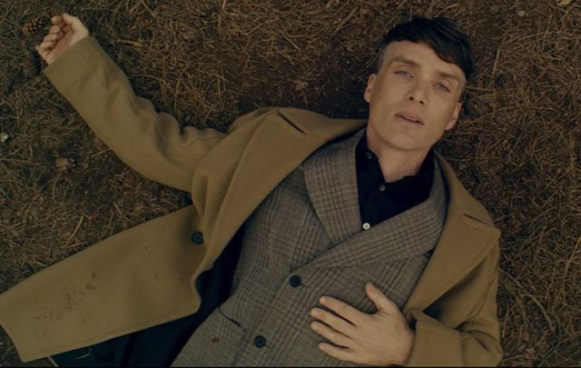 "Still of Cillian Murphy in the new ""Black Forest\"" advert for Stella McCartney."