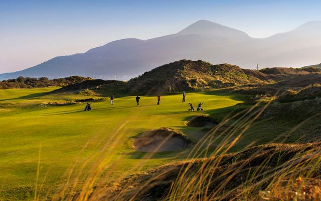 Royal County Down golf course - just one of the many stunning courses on the island of Ireland.
