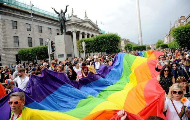 Dublin is celebrating Pride all month long.