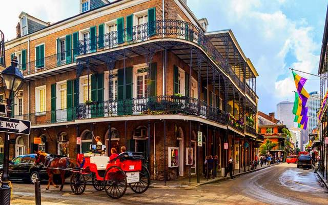 French Quarter, New Orleans.