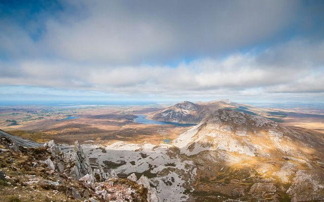 Mount Errigal, Co. Donegal.