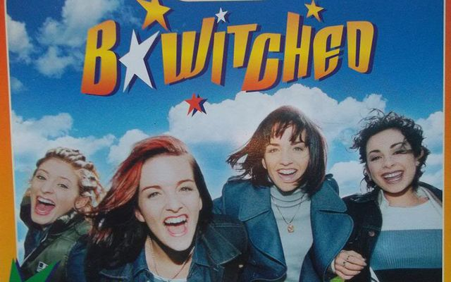 Irish pop group B*Witched (L to R Sinead, Edele, Keavy and Lindsey) in 2000.