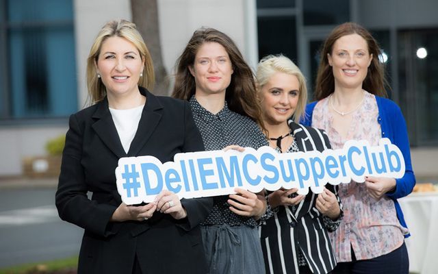 GirlCrew and Dell EMC have joined forces this week to launch a new Supper Club specifically for female founders.