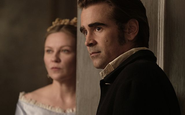 Colin Farrell plays a Union Army soldier from Ireland.