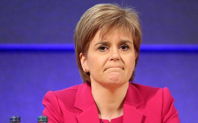 Scottish First Minister Nicola Sturgeon.
