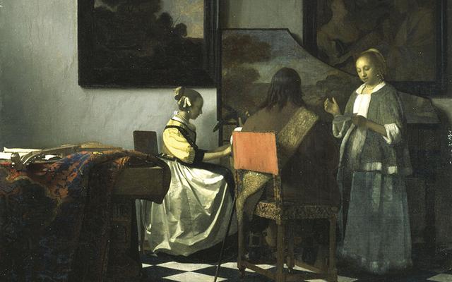 The Concert, by Vermeer.