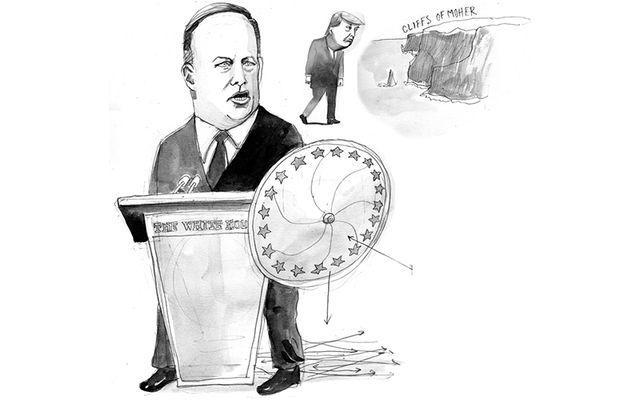 Imagining Spicer as Ambassador.