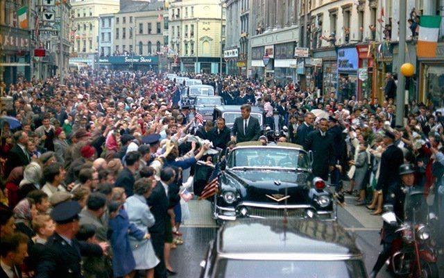 JFK in Ireland.