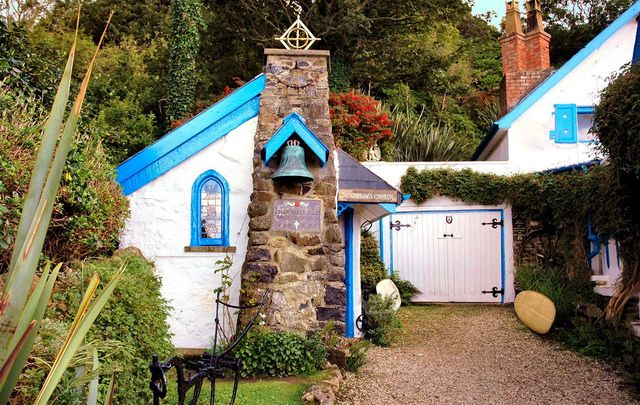 St Gobban's Church, in Portbradden, Co Antrim.