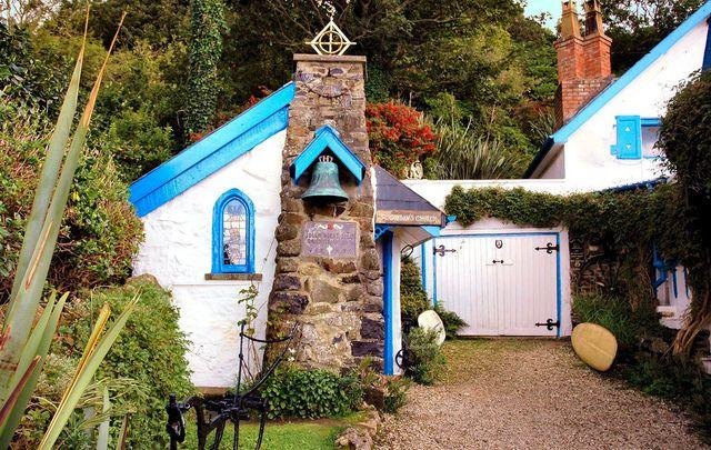 St Gobban\'s Church, in Portbradden, Co Antrim.
