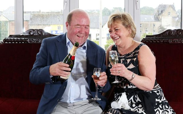 Colin and Eithne Bell, founders of the Kevin Bell Repatriation Fund.