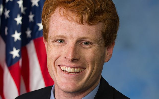 Congressman Joe Kennedy III.