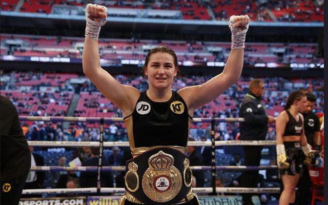 Irish boxer Katie Taylor.