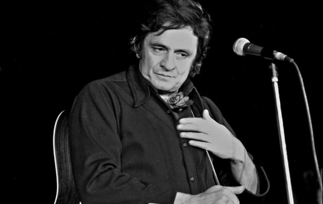 Country music legend, Johnny Cash.