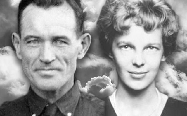 Fred Noonan and Amelia Earhart