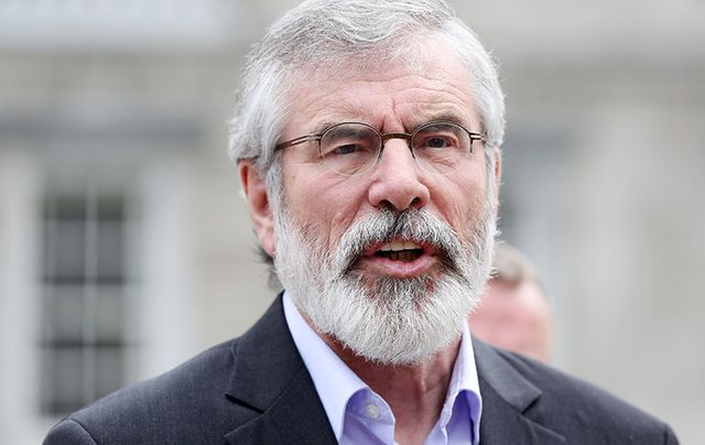 Gerry Adams speaking in New York to IrishCentral.com in an exclusive and wide-ranging interview.