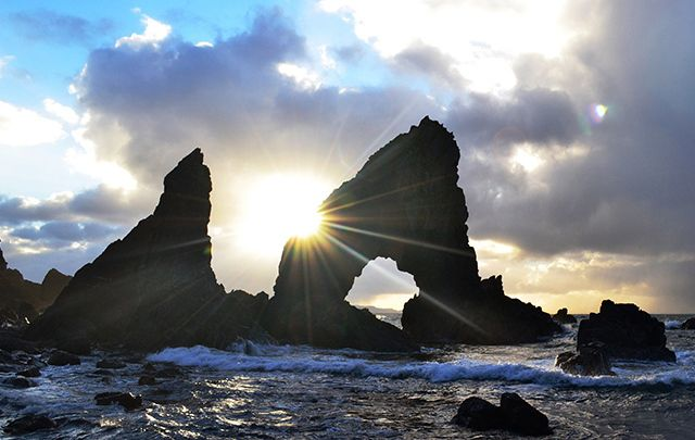 Arch Stack, Maghery, County Donegal.