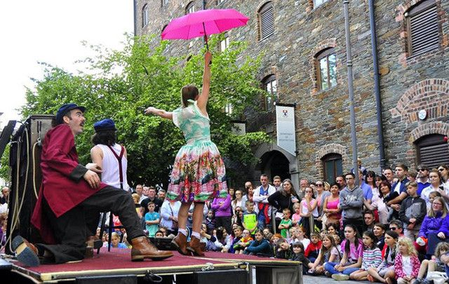 Get creative at Spraoi Festival in Co. Waterford.