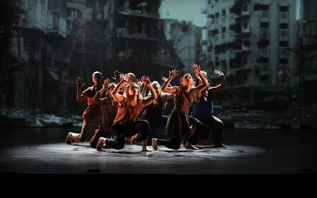 """""""Welcoming The Stranger"""", a contemporary dance piece"""
