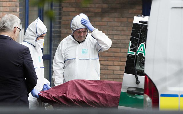 Disbelief at the crime scene where three-year-old Omar Omran was found stabbed to death.
