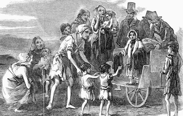 500 children found in Great Hunger workhouse mass grave