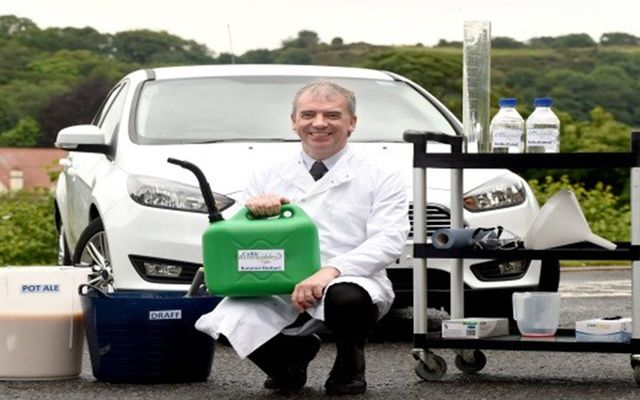 Professor Tangney, president of Edinburgh Napier University's Biofuel Research Centre and founder of Edinburgh-based Celtic Renewables Ltd.
