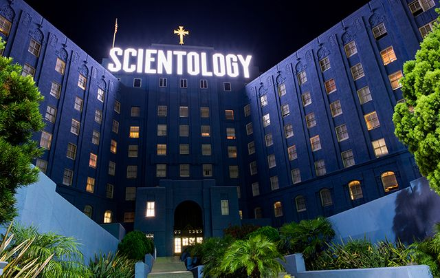 Headquarters of the Church of Scientology International in California.