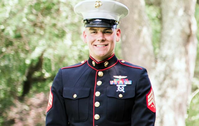 Marine Sgt. Owen Lennon.